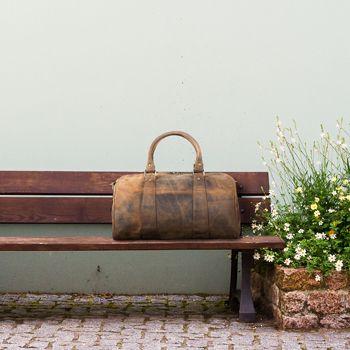 Vintage Reisetaschen Herren Damen