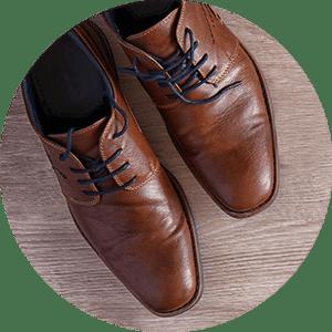 Scarpe in pelle vintage