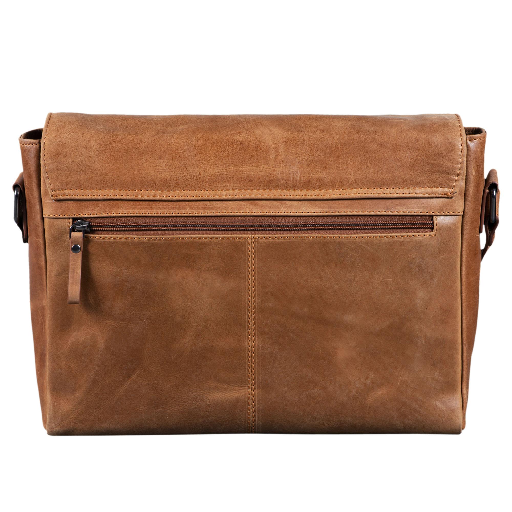 Business Aktentasche Vintage Leder braun