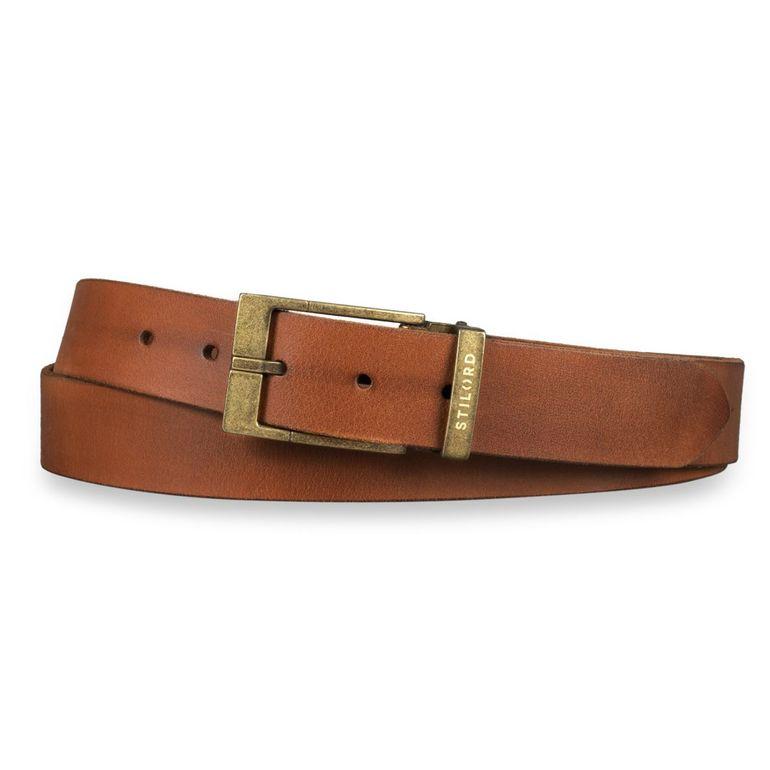 [Bulto] Cinturón de cuero marrón