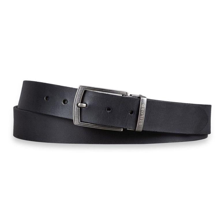 [Bulto] Cinturón de Cuero Hombre Negro