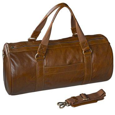 STILORD Ledertasche Reisetasche Sporttasche Weekender Freizeit Handgepäck Vintage echtes Leder braun