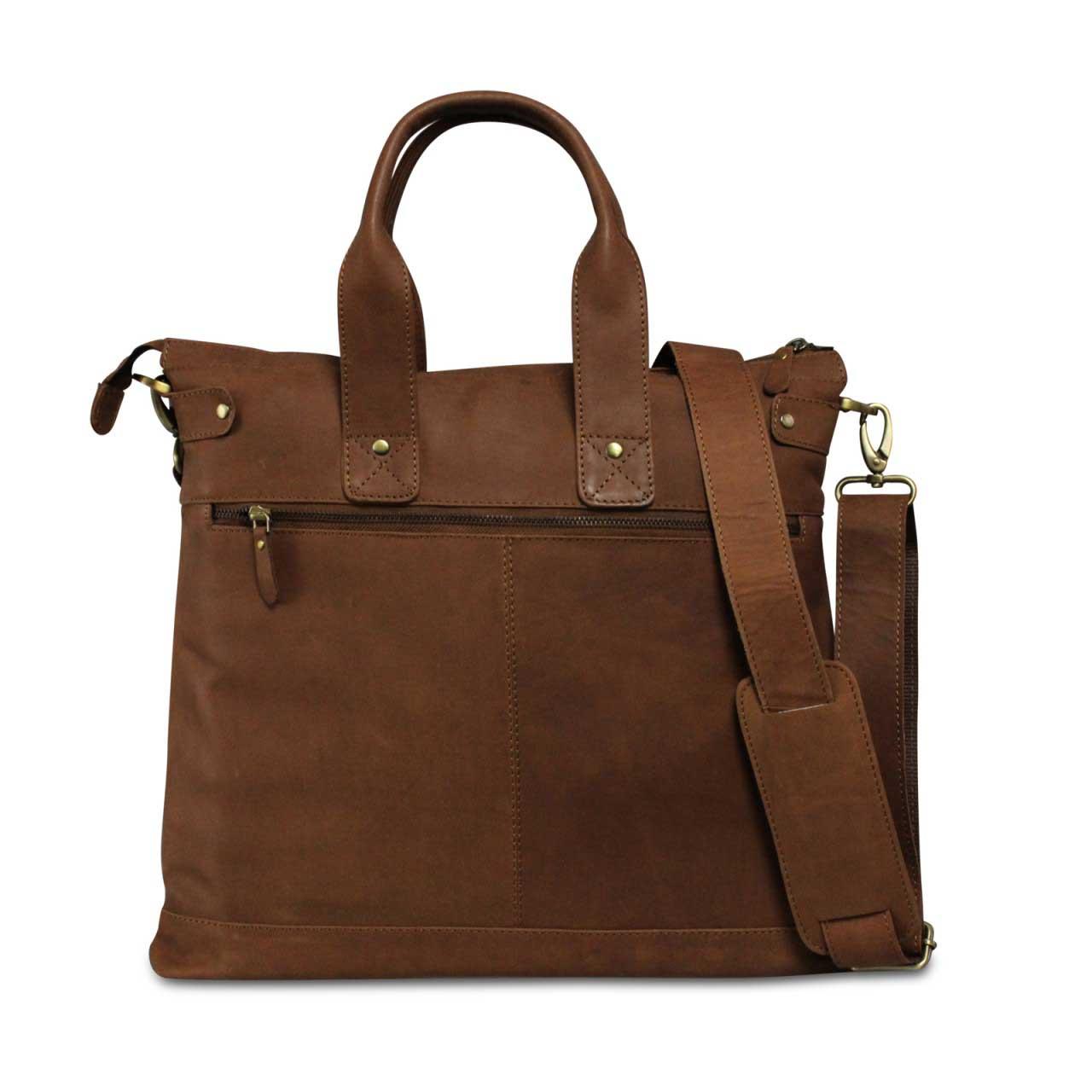 Ledertasche Unisex Tragetasche Handbag Leder