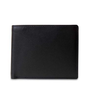STILORD Portemonnaie aus Leder Geldbörse Brieftasche Ledergeldbörse Portmonee Geldbeutel Etui EC-Karten Leder schwarz