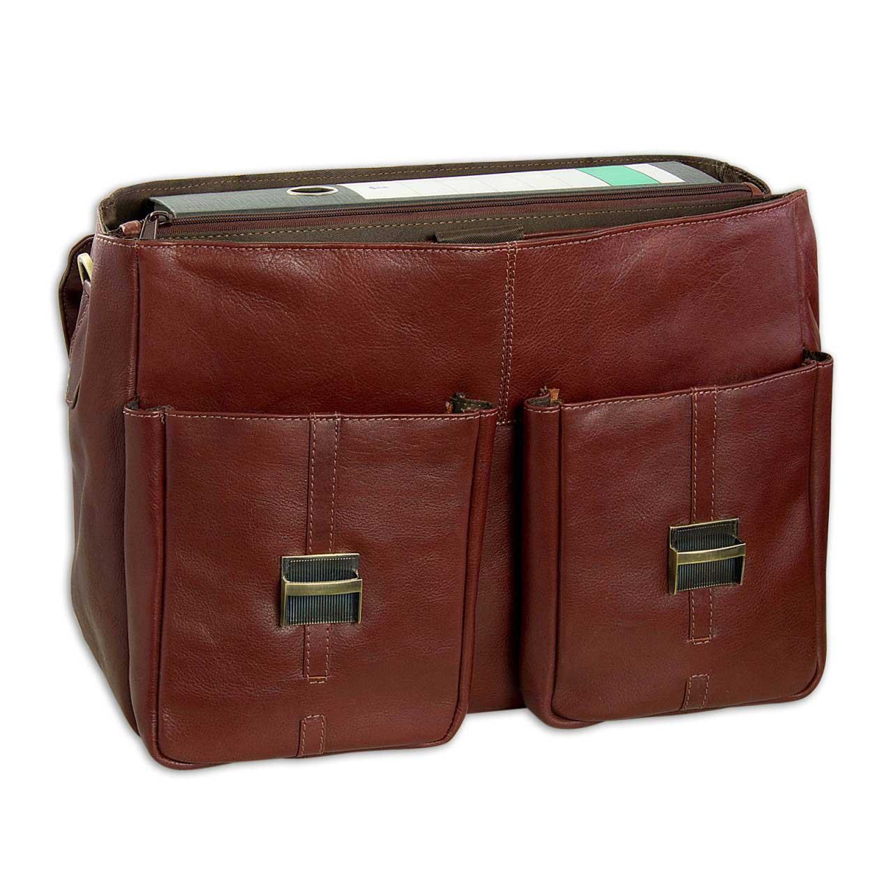 stilord stylische umh ngetasche aktentasche handtasche mit schloss und 15 6 zoll laptopfach aus. Black Bedroom Furniture Sets. Home Design Ideas