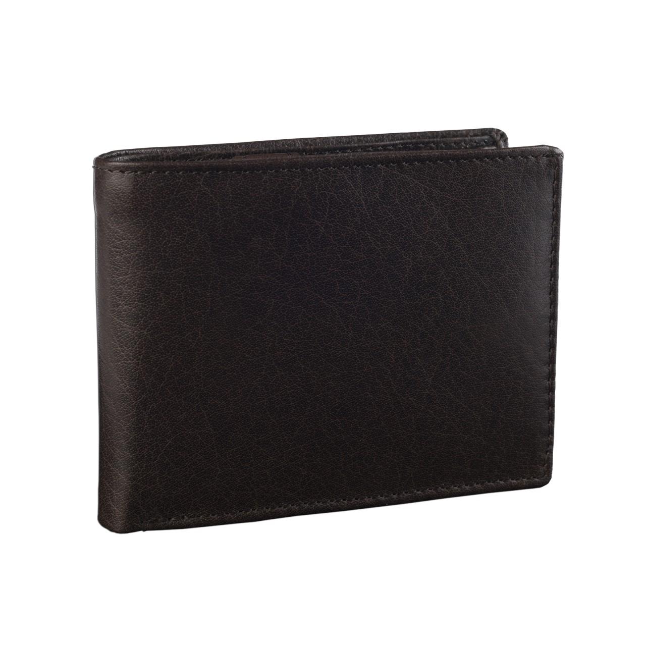STILORD Portemonnaie Herren aus Leder Geldbörse Portmonee Brieftasche Geldbeutel Geldtasche Kartenfach Leder braun - Bild 1