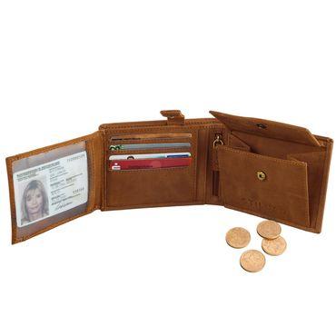 STILORD Brieftasche Portemonnaie Geldbörse Geldbeutel Portmonee Etui Wallet Kartenfach Leder Vintage Retro braun – Bild 5