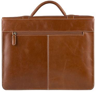 STILORD Vintage Aktentasche zum Umhängen 15.6 Zoll - Business Umhängetasche ideal für Lehrer und Büro, Rinds Leder braun – Bild 6