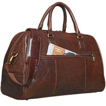 stilord vintage reisetasche dakota weekender bag in kabinengr e aus echtem b ffel leder. Black Bedroom Furniture Sets. Home Design Ideas