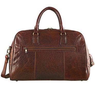 "STILORD Vintage Reisetasche ""Dakota"" Weekender Bag in Kabinengröße aus echtem Büffel Leder – Bild 4"