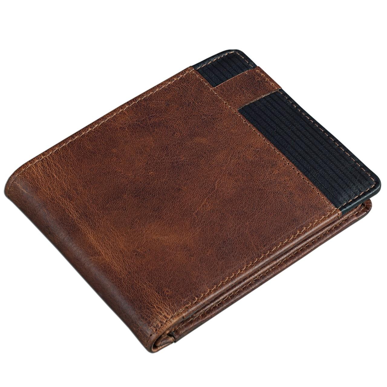 Geldbörse aus echtem Leder Etui für Männer