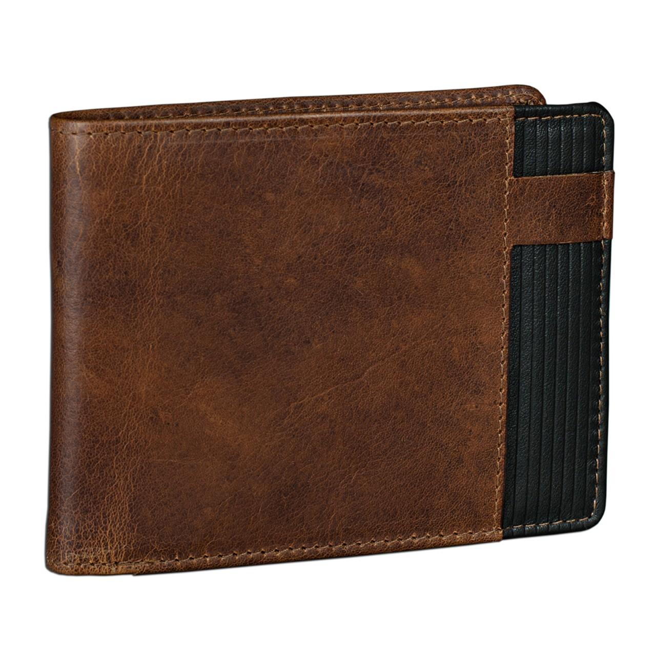 Leder Geldbörse für Herren Vintage Design