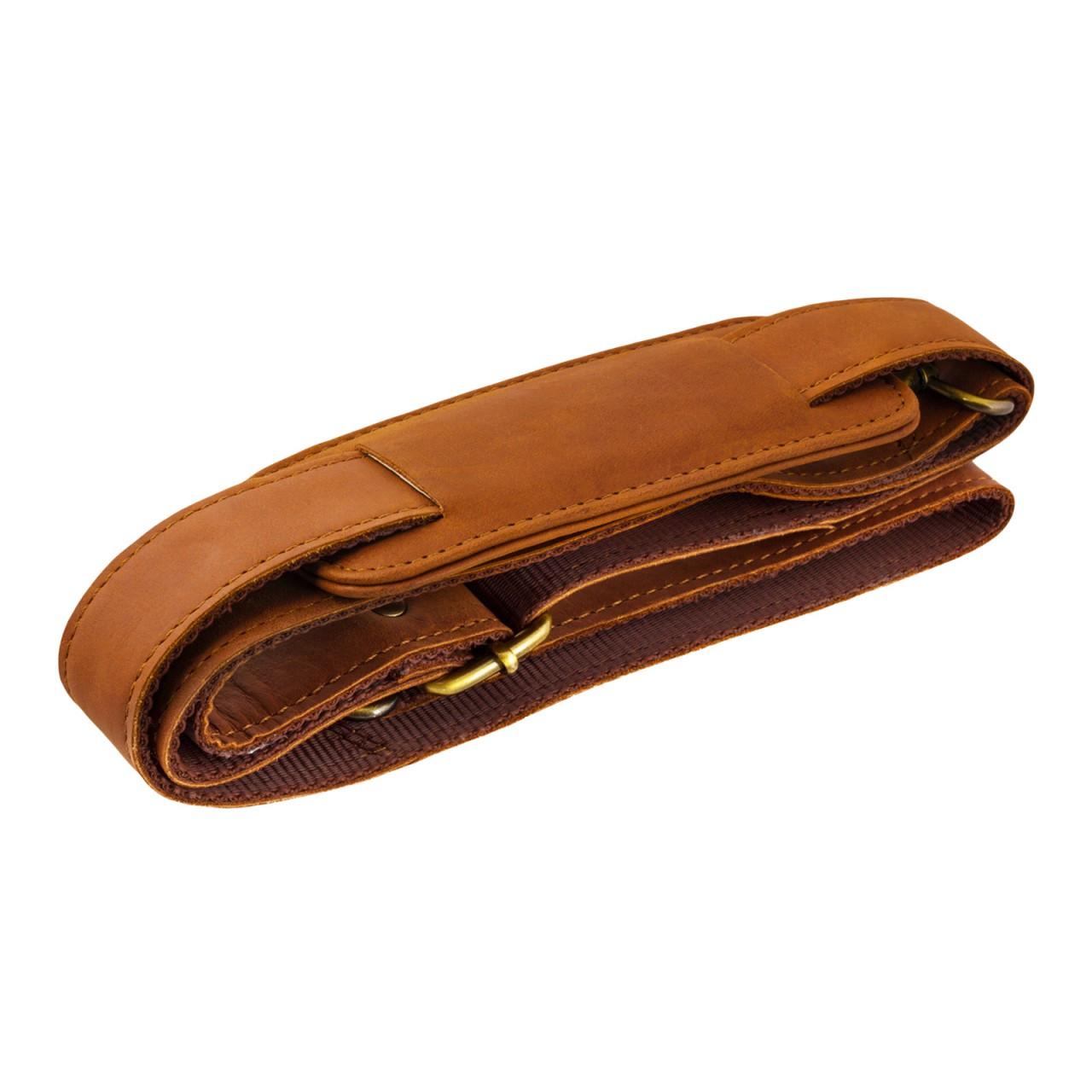 STILORD Vintage Umhängetasche groß Aktentasche Schultertasche 15,6 Zoll Laptoptasche - ideal für Büro Uni Arbeit Leder braun - Bild 4