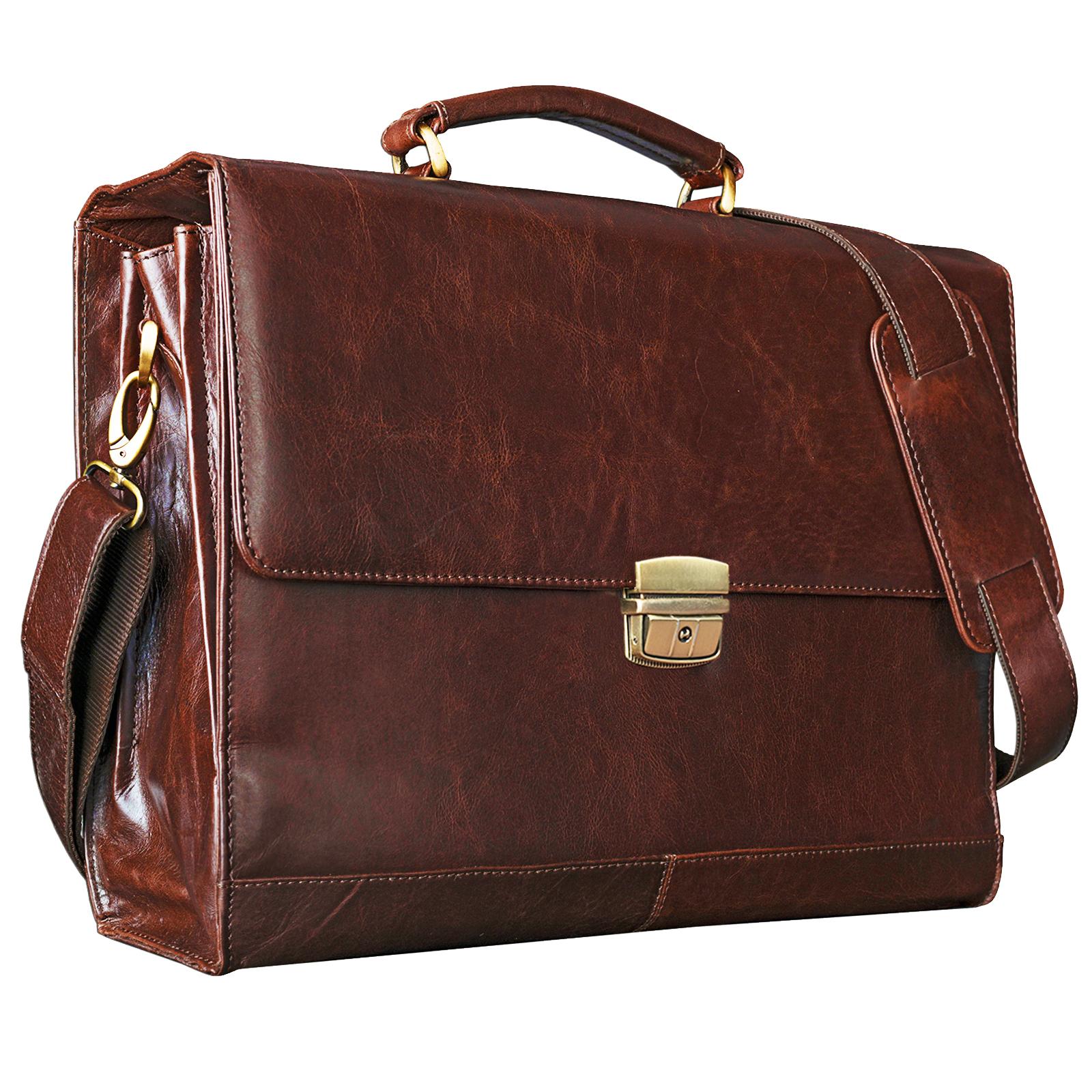 Vintage Leder Aktentasche