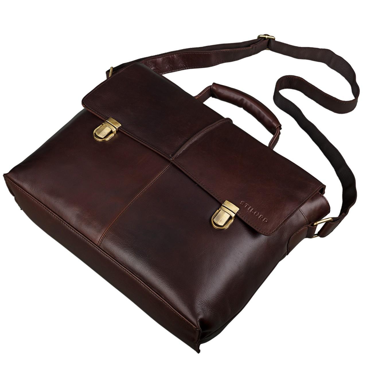 Leder Business Tasche