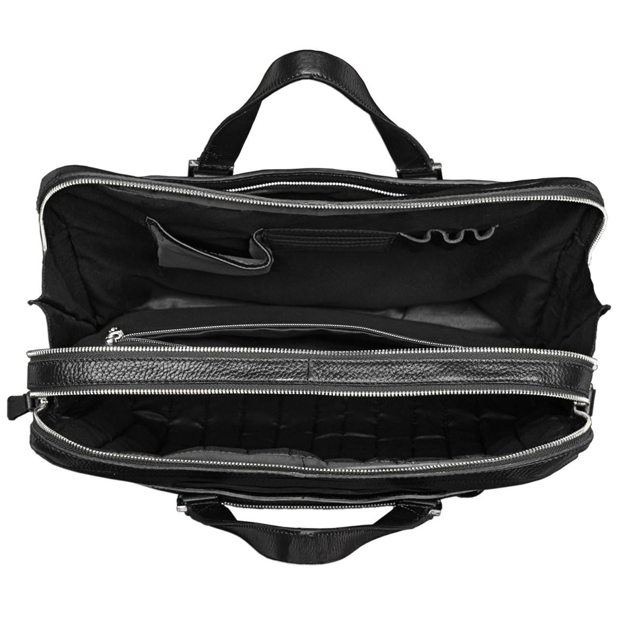 Elegante Bürotasche Echt Leder