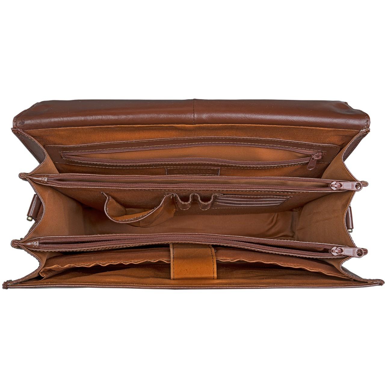 stilord aktentasche cognac braun herren damen b rotasche business tasche laptopfach 15 6 zoll. Black Bedroom Furniture Sets. Home Design Ideas