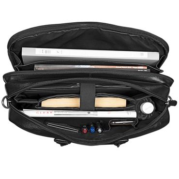 XXL Ledertasche Laptoptasche