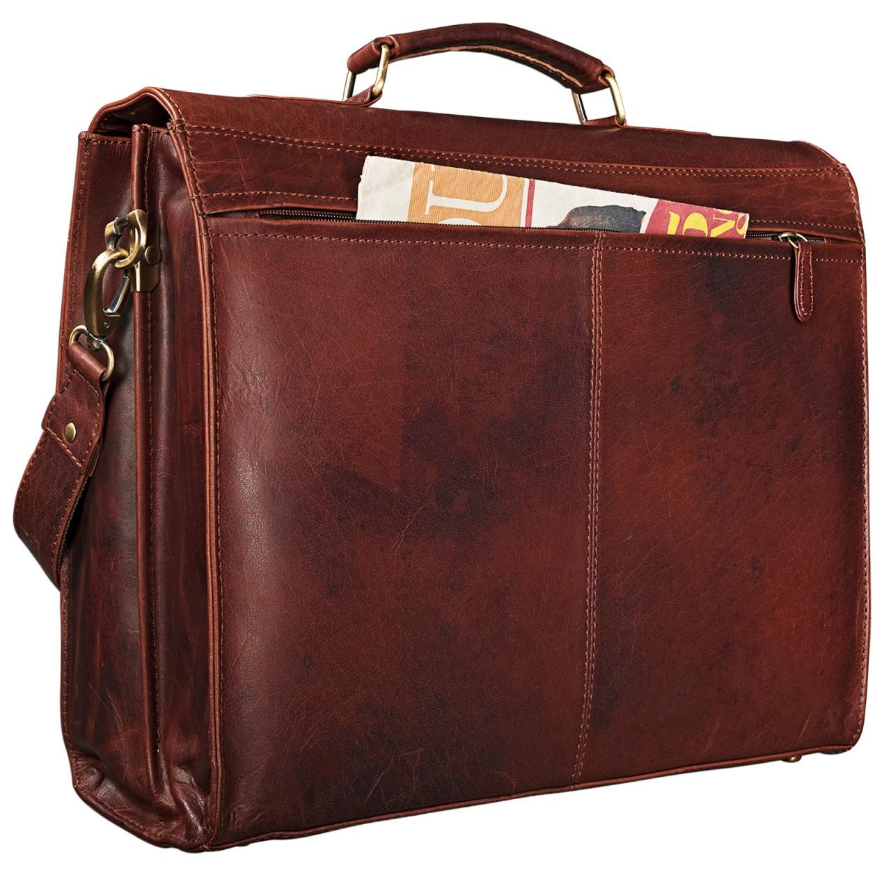 Unisex Businesstasche Leder