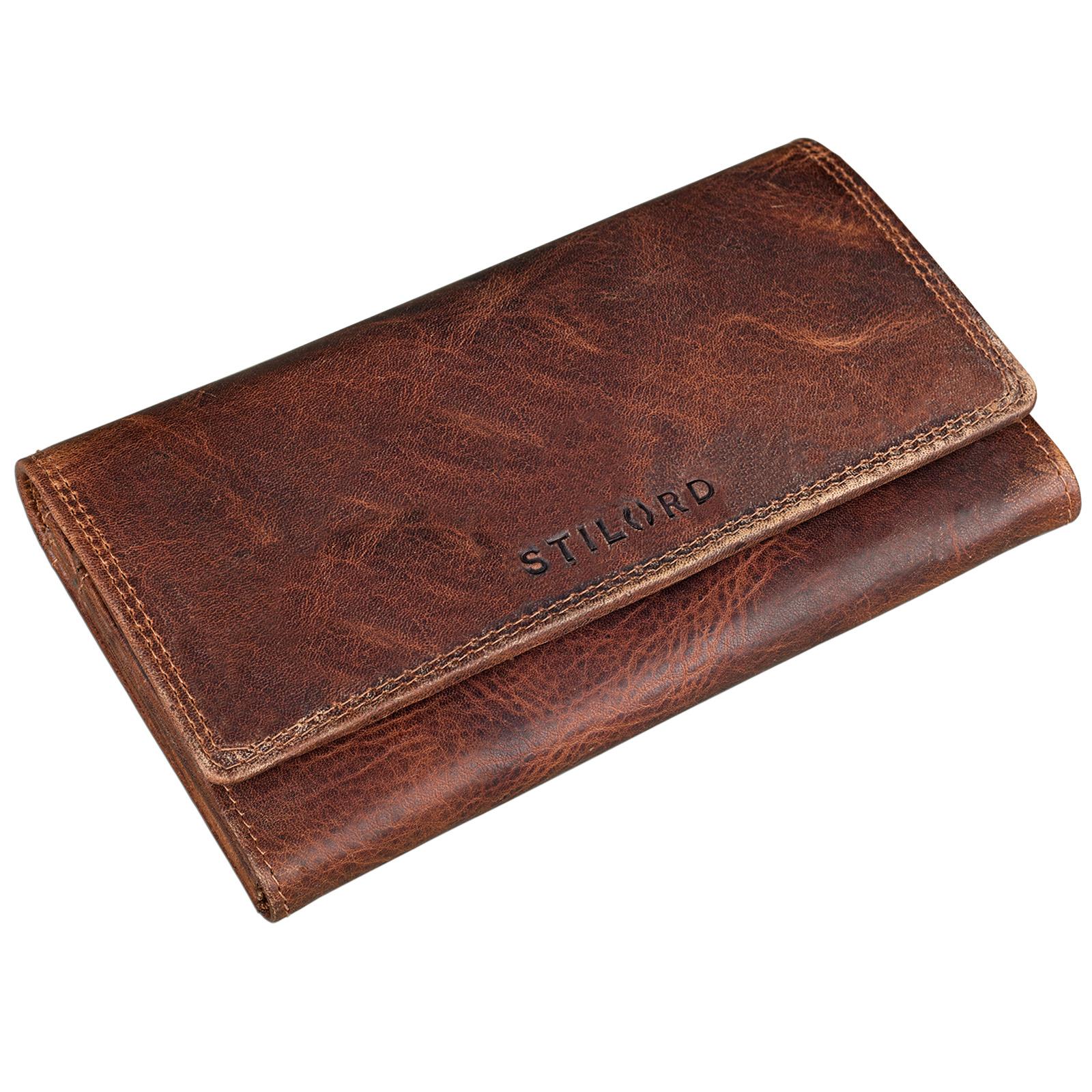 Damen Portemonnaie Leder