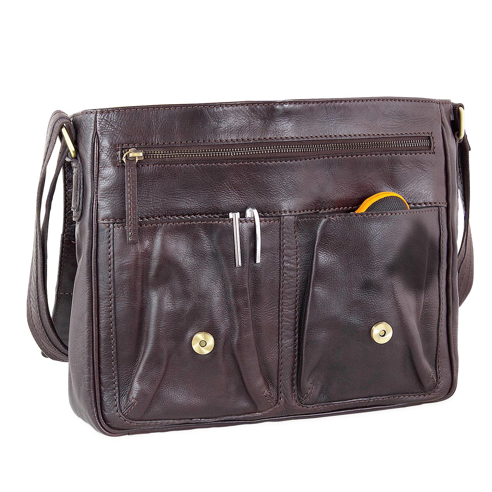 Crossbody Bag Leder XL