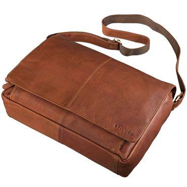 STILORD B-Ware Vintage Ledertasche Männer Frauen Businesstasche zum Umhängen 15,6 Zoll Laptoptasche Aktentasche Unitasche Umhängetasche Leder – Bild 5