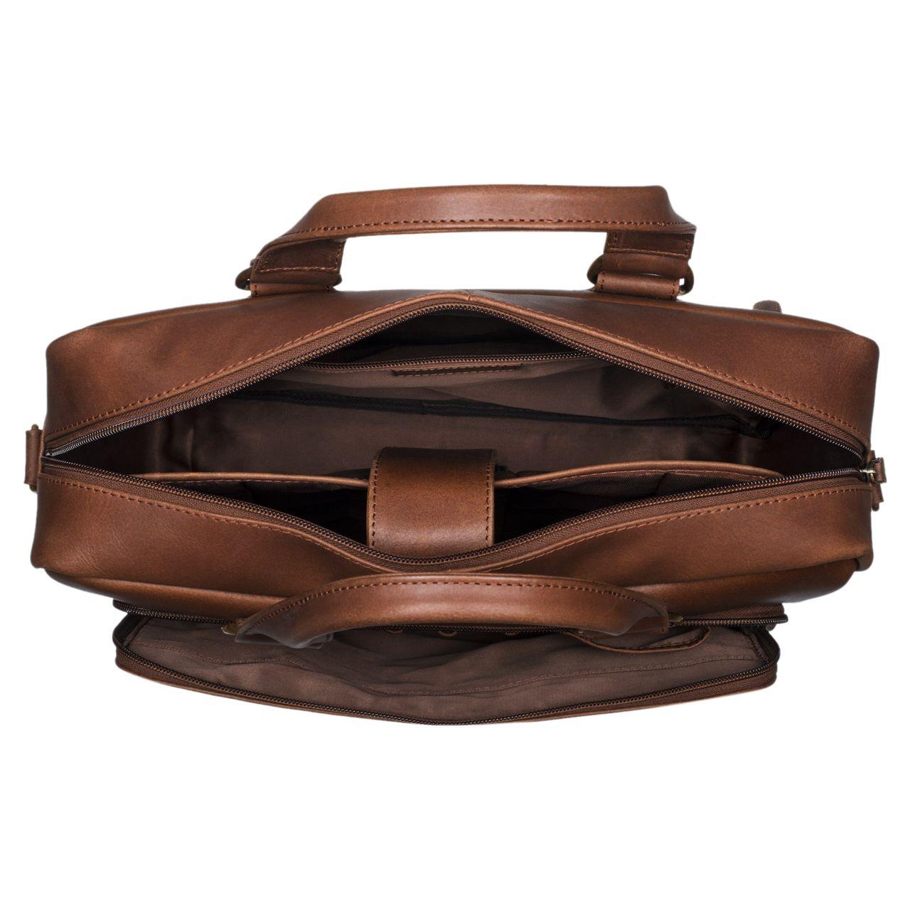 stilord joshua vintage businesstasche leder braun gro. Black Bedroom Furniture Sets. Home Design Ideas