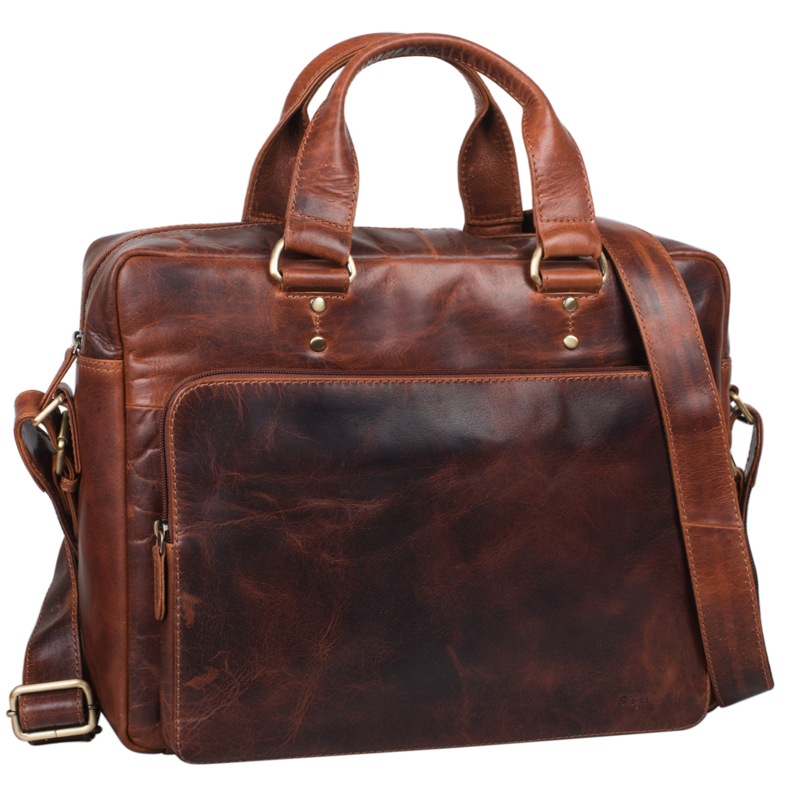 business tasche leder