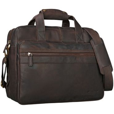 """Adventure"" Lehrertasche Leder groß"