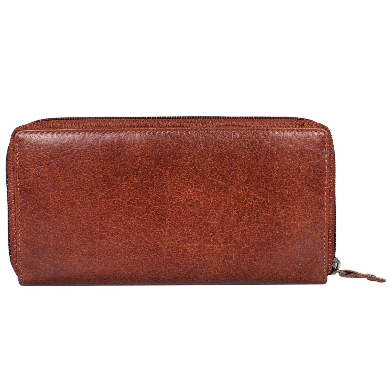 """STILORD """"Dana"""" Damen Geldbörse lang Leder Vintage Portemonnaie im Querformat große Brieftasche mit Reißverschluss für Kleingeld EC-Karten echtes Rindsleder - Bild 7"""