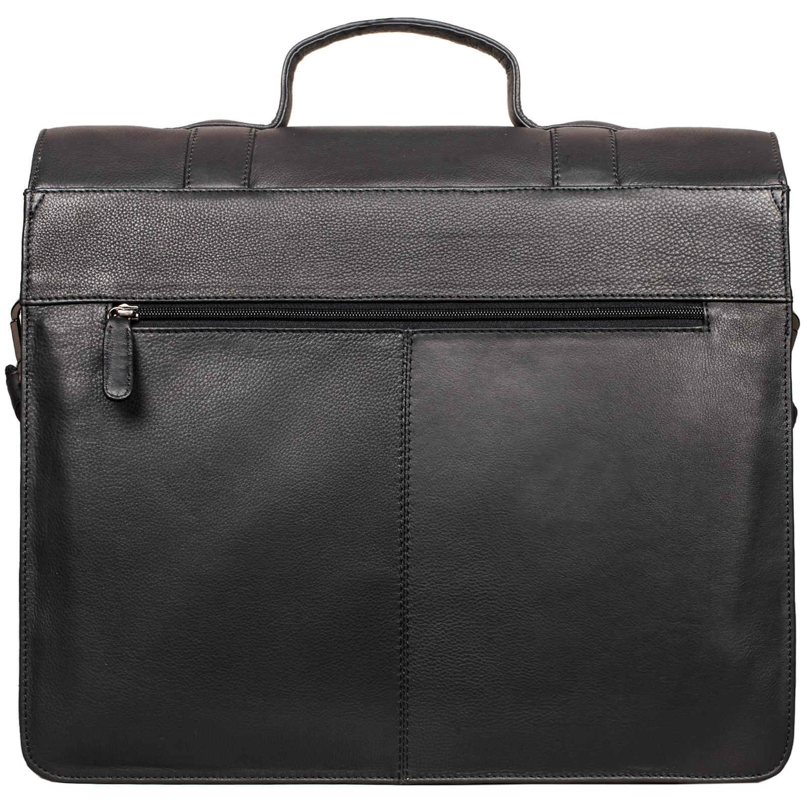 """STILORD """"Marius"""" Klassische Lehrertasche Leder Schultasche XL groß Aktentasche zum Umhängen Businesstasche Laptoptasche echtes Rindsleder  - Bild 19"""