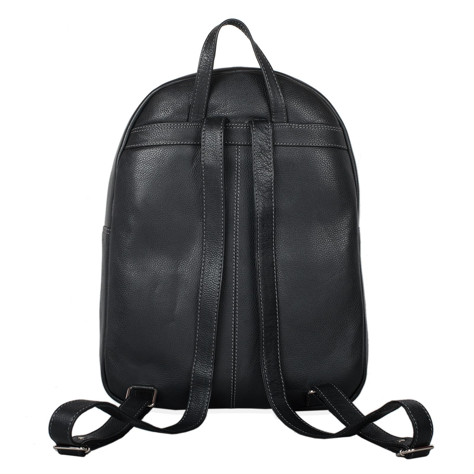 "STILORD ""Conner"" Leder-Rucksack Herren groß Vintage Daypack Backpack Unirucksack Schule Freizeit Rucksackhandtasche Business 13,3 Zoll Laptop A4 echtes Rindsleder - Bild 20"