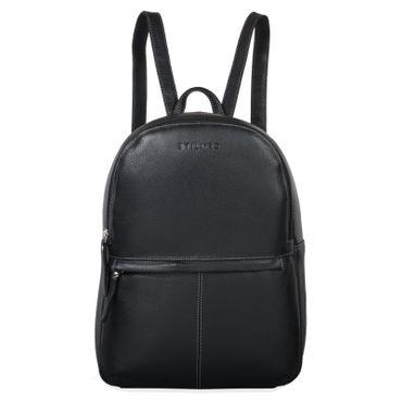 "STILORD ""Conner"" Leder-Rucksack Herren groß Vintage Daypack Backpack Unirucksack Schule Freizeit Rucksackhandtasche Business 13,3 Zoll Laptop A4 echtes Rindsleder Farbe: schwarz"