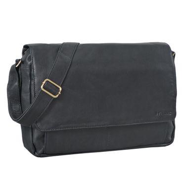 """STILORD """"Lonzo"""" Vintage Umhängetasche echtes Büffel-Leder Messenger Bag für Herren und Damen Unitasche Büro Business Studium Leder – Bild 18"""