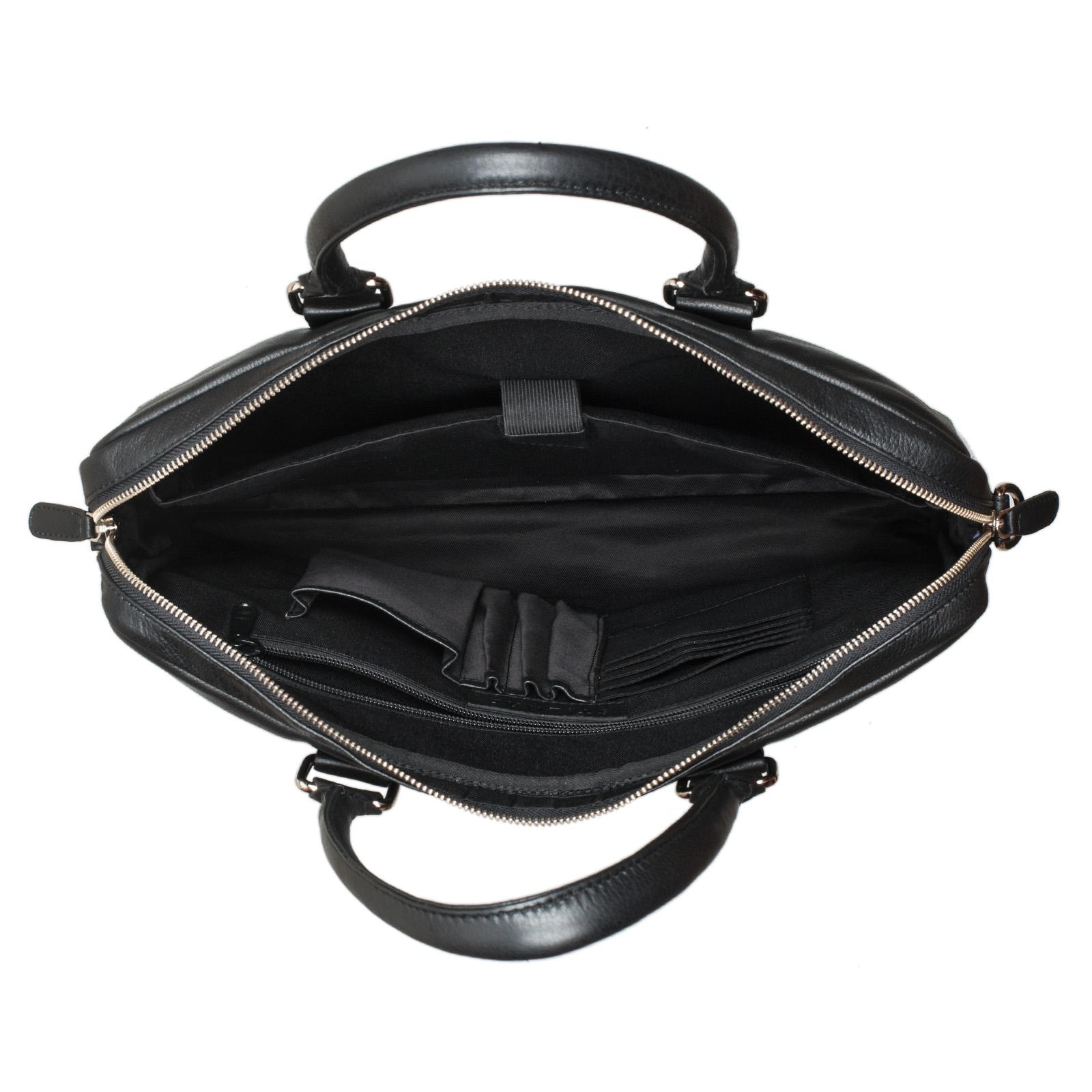 """STILORD """"Emilio"""" Umhängetasche Leder Vintage groß Schultertasche elegante Handtasche für Büro Business Arbeit Laptop 13.3 Zoll Aktentasche DIN A4 - Bild 10"""