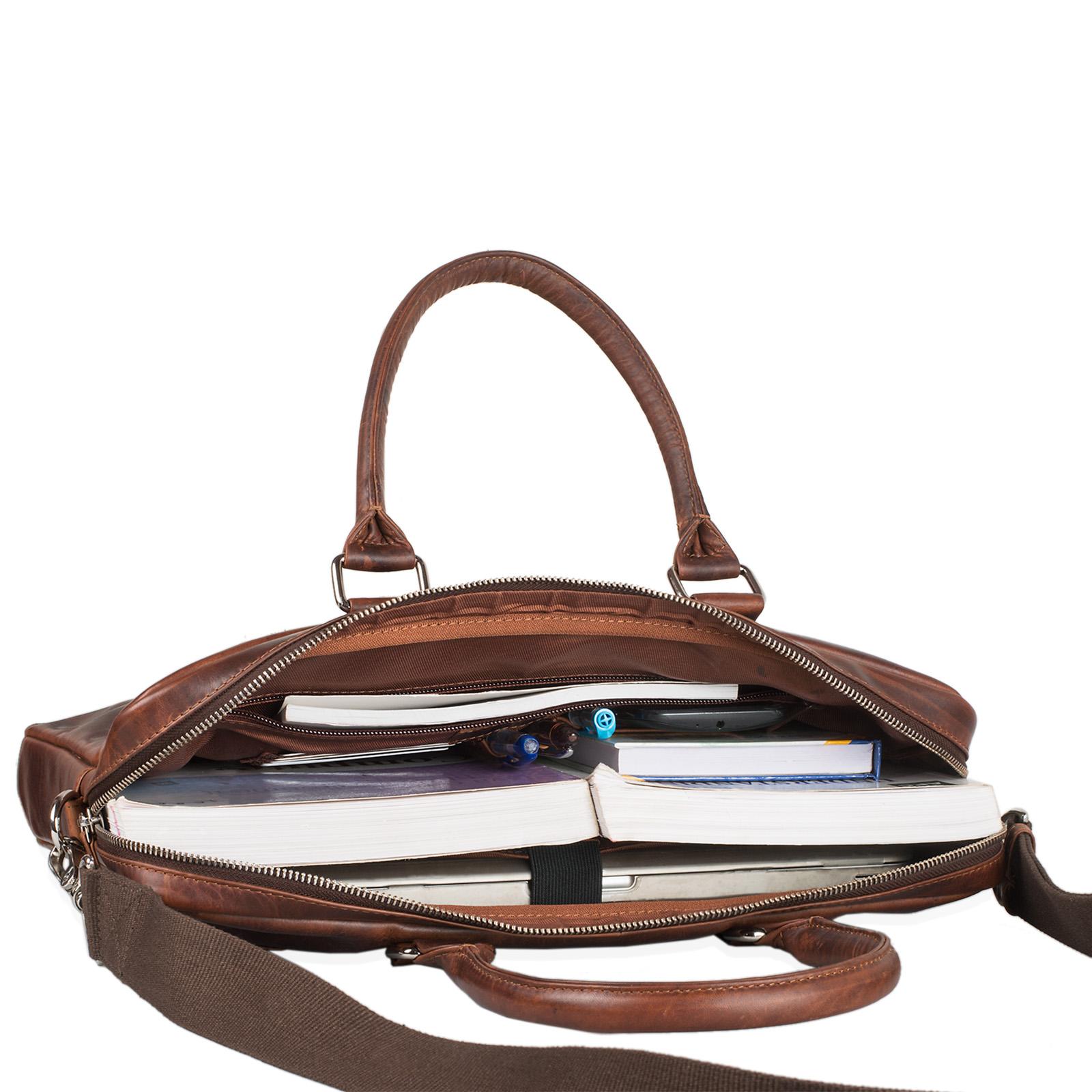 MacBook Tasche Notebook 13 Zoll echtes Leder