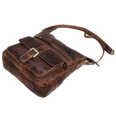 """STILORD """"Louise"""" Vintage Umhängetasche Damen Leder klein Messenger Bag Tablet-Tasche für 9.7 Zoll iPad Schultertasche DIN A5 Handtasche aus echtem Rindsleder – Bild 14"""
