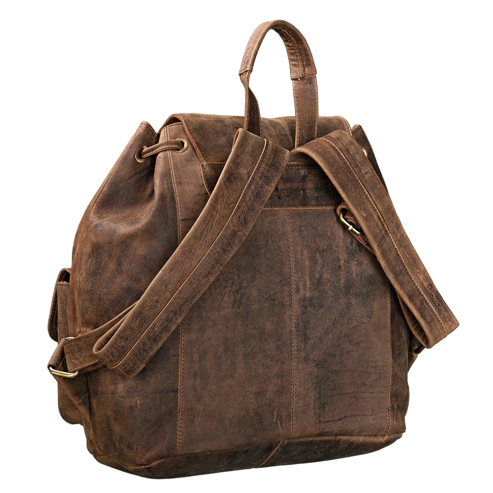 "STILORD ""Larissa"" Vintage Rucksack Leder Damen Rucksackhandtasche Lederrucksack Handtasche DIN A4 City Shopping Daypack Schule Uni - Bild 12"