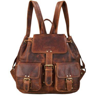 Vintage Rucksack Leder Damen