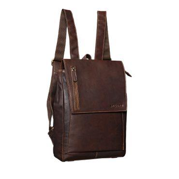 "STILORD ""Simon"" Daypack Rucksack Leder Herren Damen Vintage Rucksackhandtasche groß Lederrucksack für Business Uni Schule A4 13 Zoll MacBook echtes Büffelleder"