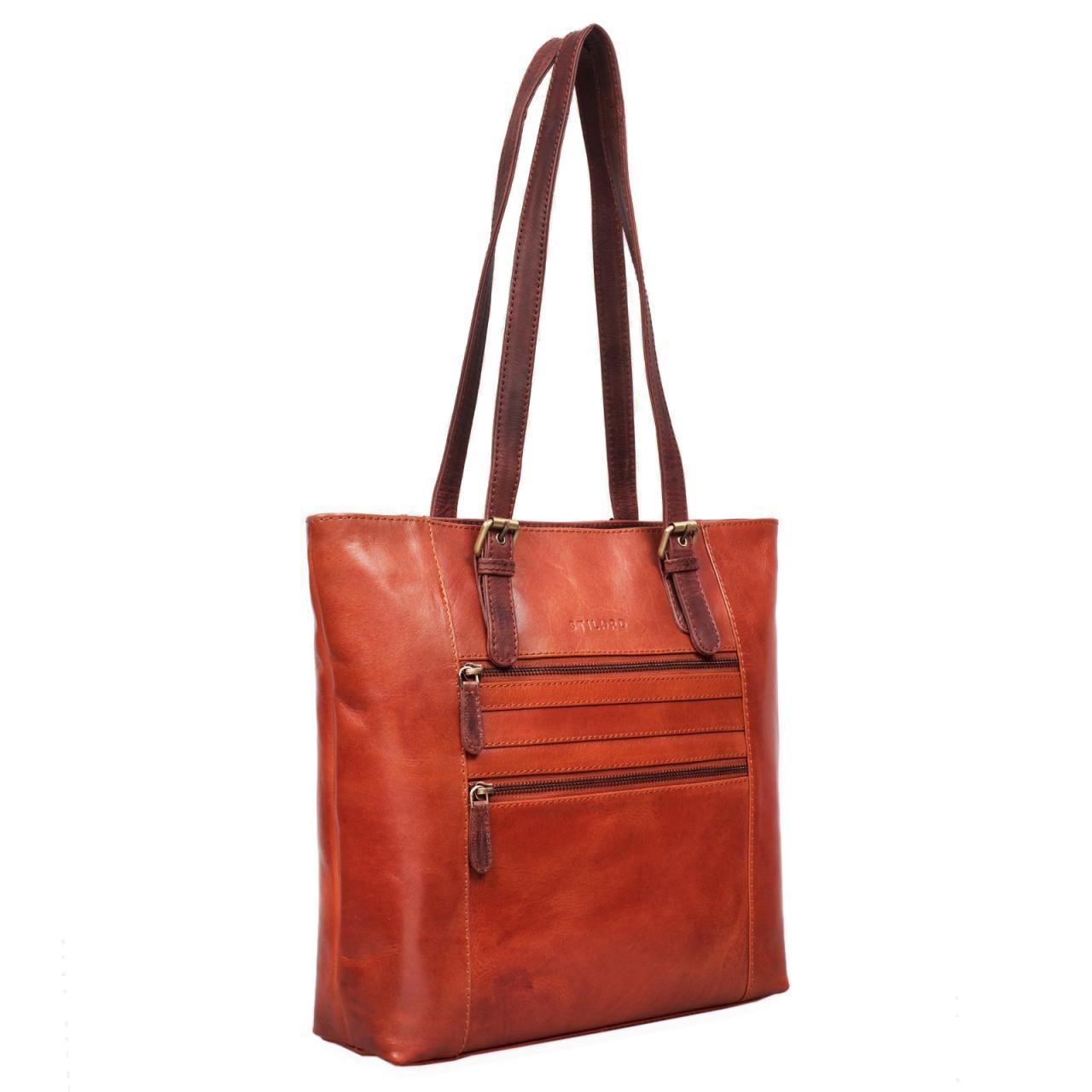 Handtasche aus echtem Leder Vintage