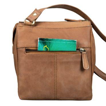 """STILORD """"Leon"""" Schultertasche klein Leder Herren Damen Umhängetasche Vintage Handtasche Ledertasche Crossbody Herrentasche – Bild 12"""
