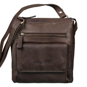 """STILORD """"Leon"""" Schultertasche klein Leder Herren Damen Umhängetasche Vintage Handtasche Ledertasche Crossbody Herrentasche – Bild 15"""