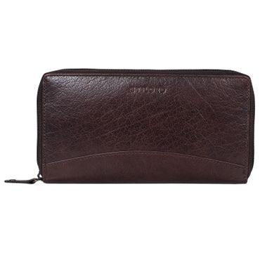 """STILORD """"Saskia"""" Portemonnaie Damen Leder groß viele Fächer Vintage Brieftasche im Querformat Geldbörse mit Reißverschluss für EC-Karten Kleingeld Ausweis – Bild 22"""
