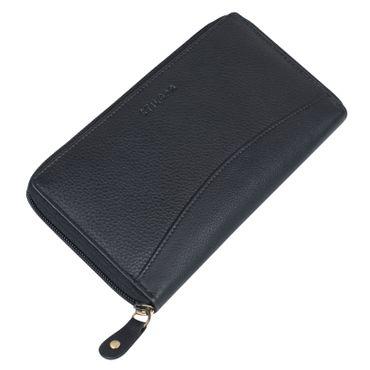 """STILORD """"Saskia"""" Portemonnaie Damen Leder groß viele Fächer Vintage Brieftasche im Querformat Geldbörse mit Reißverschluss für EC-Karten Kleingeld Ausweis – Bild 12"""