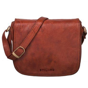 """STILORD """"Isabelle"""" Umhängetasche Damen Leder klein Handtasche elegante Schultertasche Vintage Ledertasche Partytasche Freizeittasche Ausgehtasche Echtleder – Bild 17"""