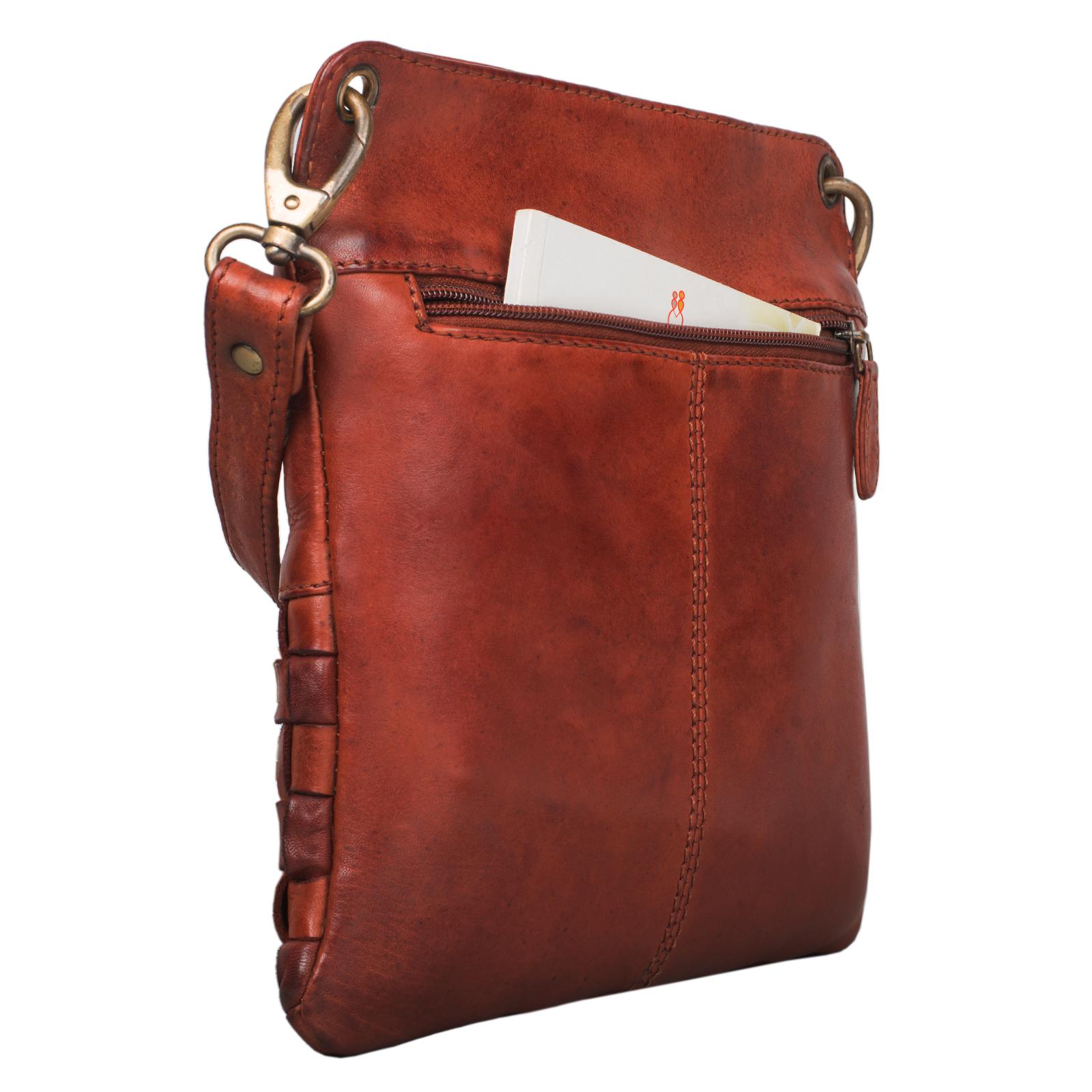 """STILORD """"Sophie"""" Schultertasche Damen klein Leder Handtasche moderne Umhängetasche geflochten Freizeittasche Vintage Abendtasche Ausgehtasche Echtleder - Bild 22"""