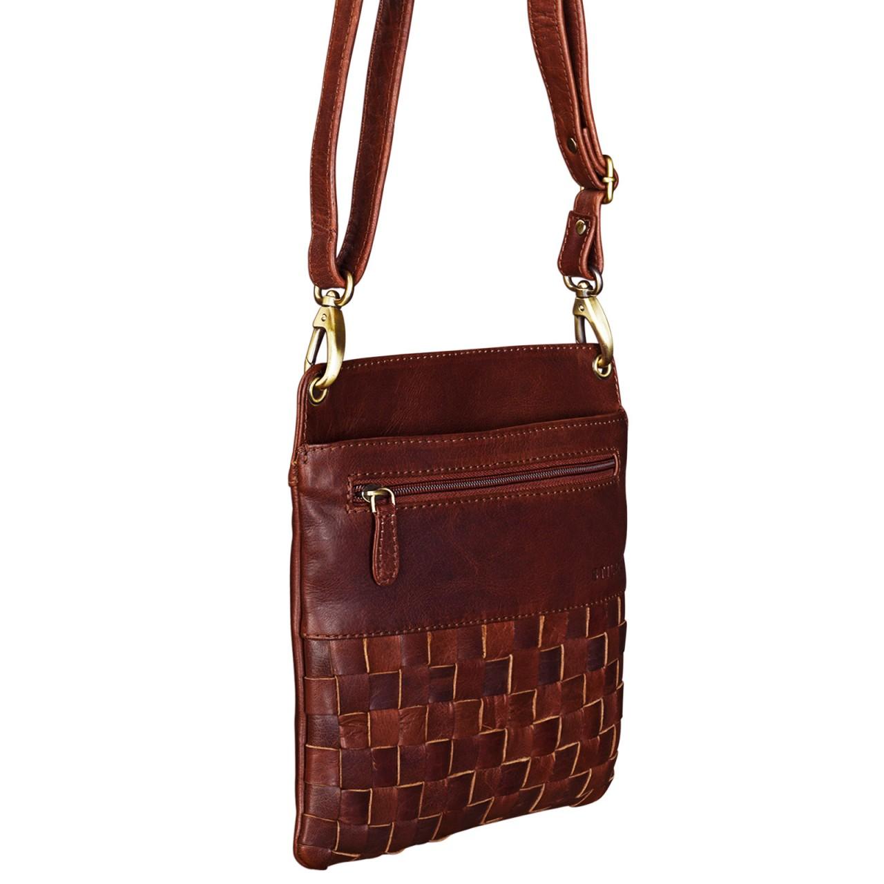 """STILORD """"Sophie"""" Schultertasche Damen klein Leder Handtasche moderne Umhängetasche geflochten Freizeittasche Vintage Abendtasche Ausgehtasche Echtleder - Bild 14"""