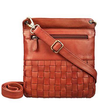 """STILORD """"Sophie"""" Schultertasche Damen klein Leder Handtasche moderne Umhängetasche geflochten Freizeittasche Vintage Abendtasche Ausgehtasche Echtleder"""