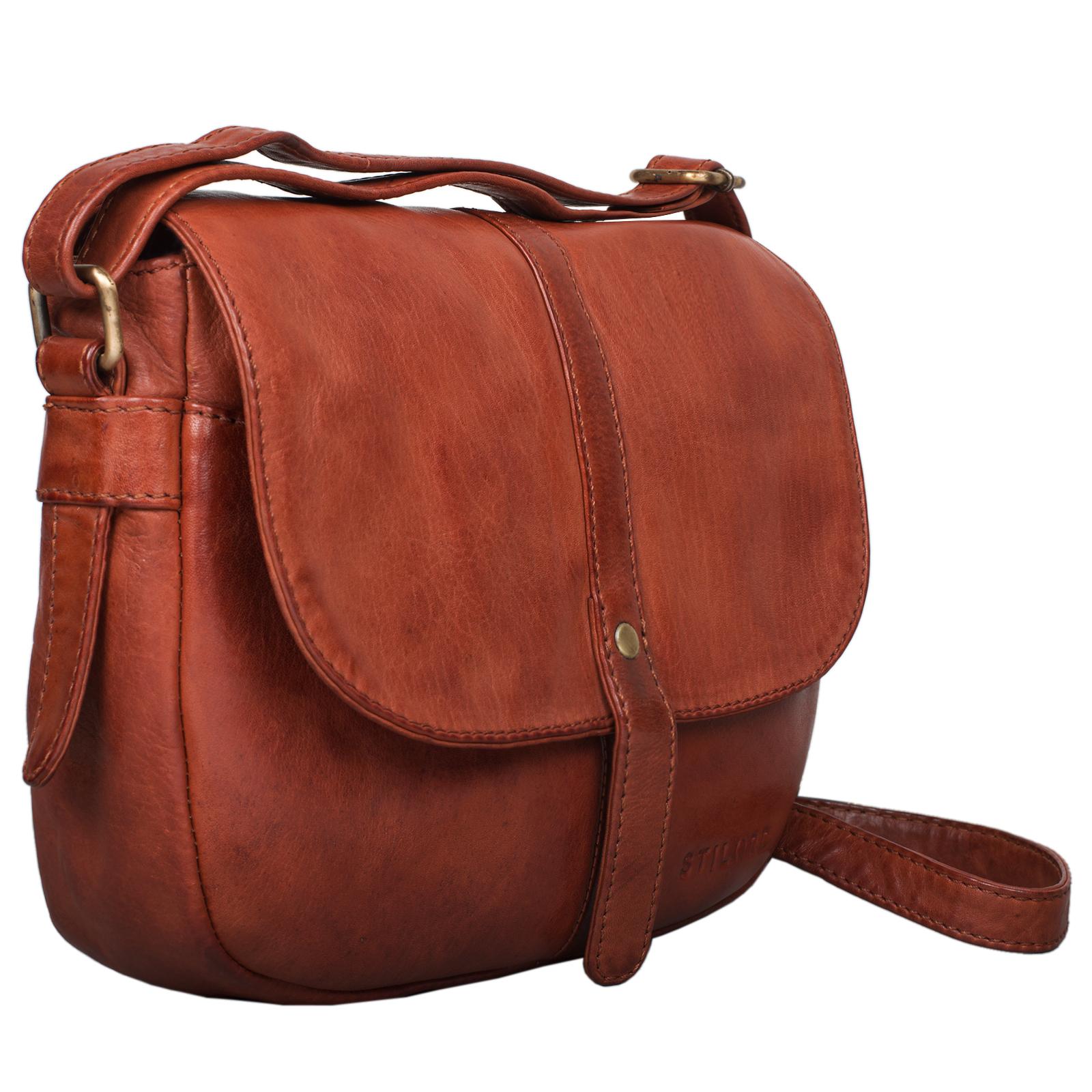 Vintage Leder Handtasche für Damen